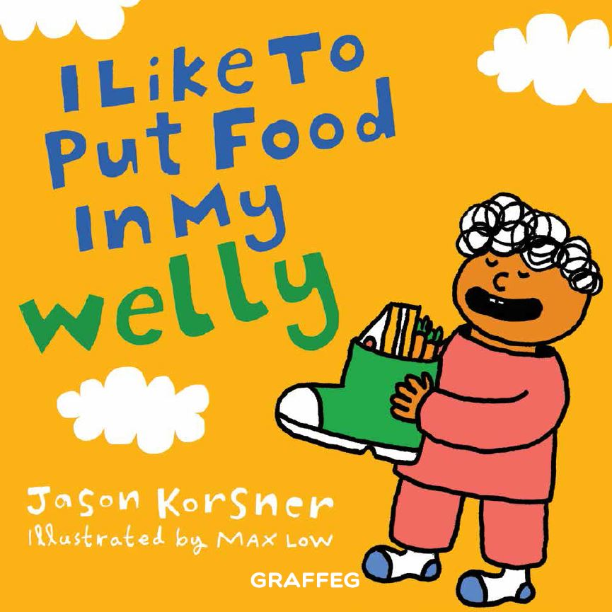 I Like To Put Food In My Welly to feature at Crickhowell Children's Book Festival