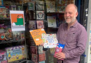 Supporting the local independent bookshop for Independent Bookshop Week